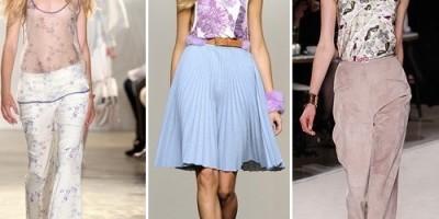 Модные топы и блузки: тенденции весна-лето 2011