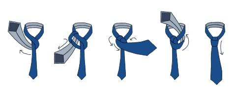 Как завязать галстук виндзорский узел