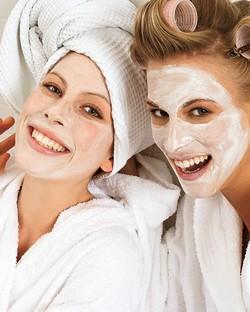 Маски для лица в бане: «возрождение» кожи