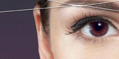 Удаление «растительности» на лице с помощью… нитки