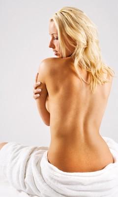 убрать жир внизу спины