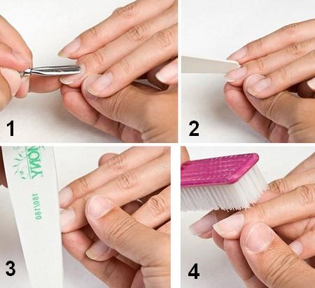 4. Стряхнуть щеточкой пыль с