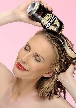 Маски для волос с пивом в домашних