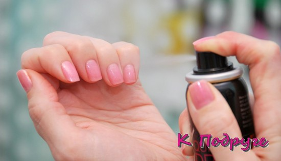 Спрей для сушки ногтей