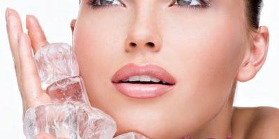 Косметический лед для лица: кубики для молодости и красоты