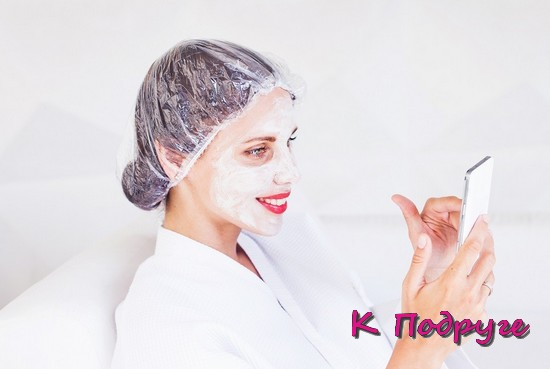 Домашняя белая маска для лица
