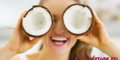 Масло кокоса для лица: плод пальмы на страже красоты