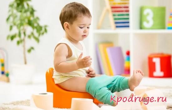 Как приучить ребенка к горшку - полезные советы