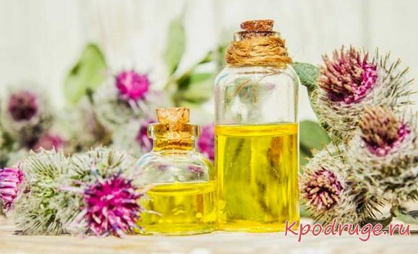 Маски для волос с репейным маслом - рецепты для решения разных проблем, советы