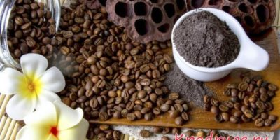 Домашний скраб из кофейной гущи для лица, тела, головы