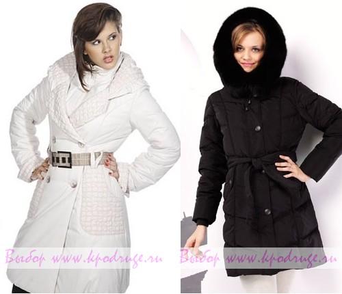 Модные женские пуховики 2011-2012 года