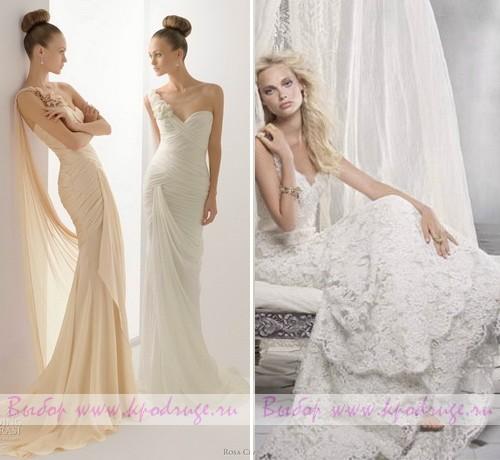 Свадебные платья: тенденции 2012 года