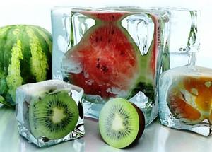 Кубики льда как замена умыванию
