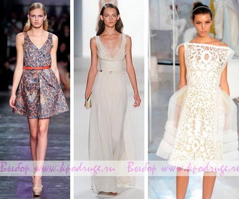 Модные сарафаны весна-лето 2012 года