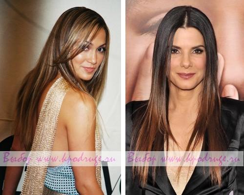 Брондирование волос с эффектом выгоревшего цвета