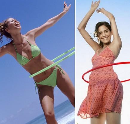 Как крутить хулахуп, чтобы похудеть?