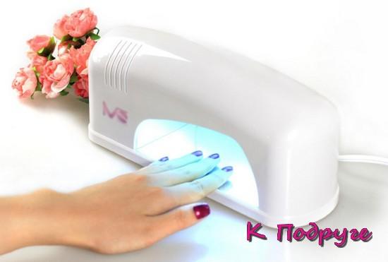Лампа для высыхания лака для ногтей