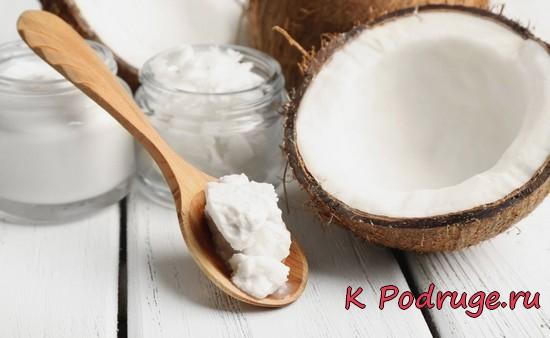 Масло из кокоса застывшее
