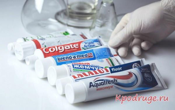 Какие бывают пасты для зубов