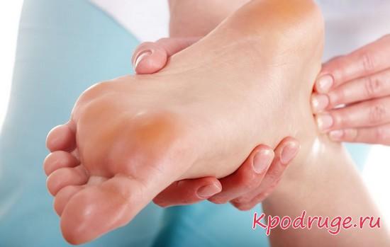 Лечение шпоры на пятке народными средствами - ванночки, примочки, прогревания, массаж, упражнения
